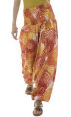 Sarouel femme coloré en coton pour l'été Roxana 291454