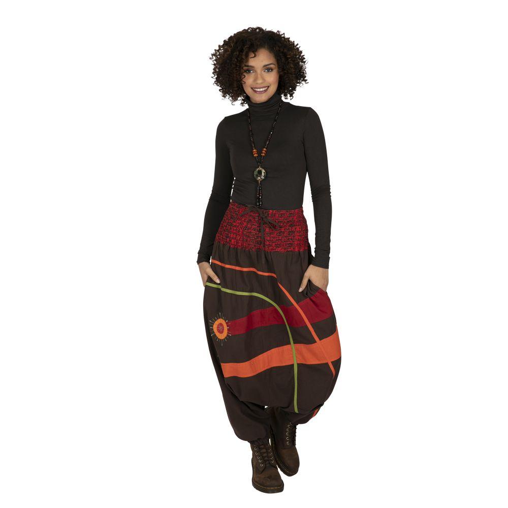 Sarouel femme élégant sarouelle ethnique pas cher Dream 323308