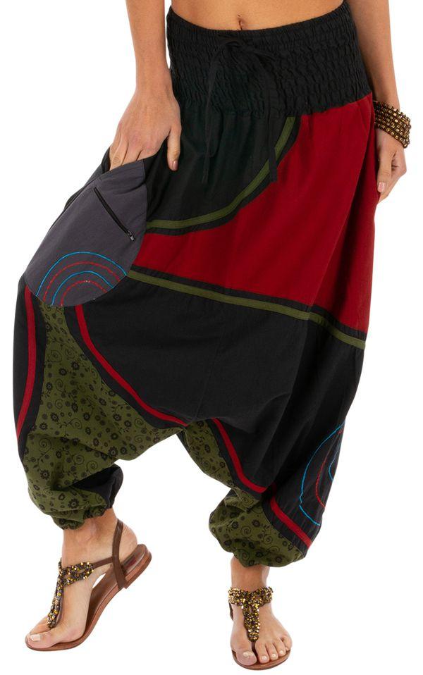 Sarouel femme et homme à porter mode ethnique pas cher Lylouen 314092
