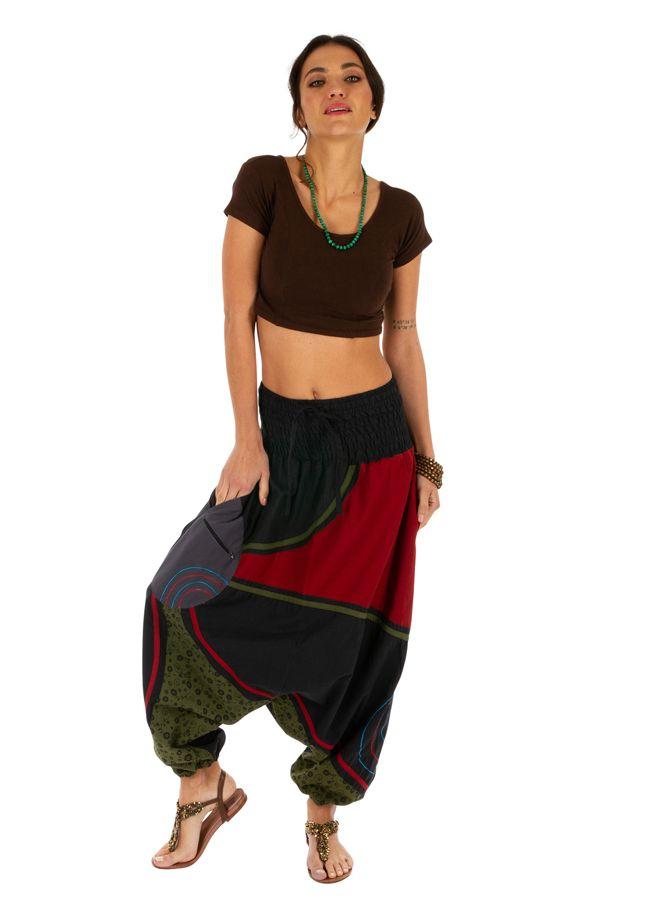 Sarouel femme et homme à porter mode ethnique pas cher Lylouen 314093