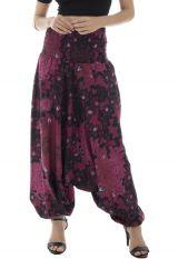 Sarouel femme ethnique en coton pour l'été Roxana 291453
