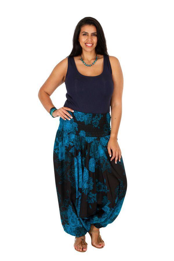 Sarouel femme grande taille pantalon jogging bouffant Maelig 306387