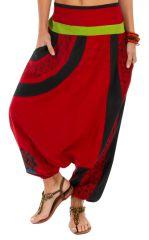 Sarouel femme hiver à porter yoga sport pas cher Lylouen 314104