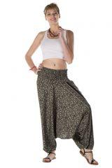 Sarouel femme original 3 en 1 kaki indien Soen 288015
