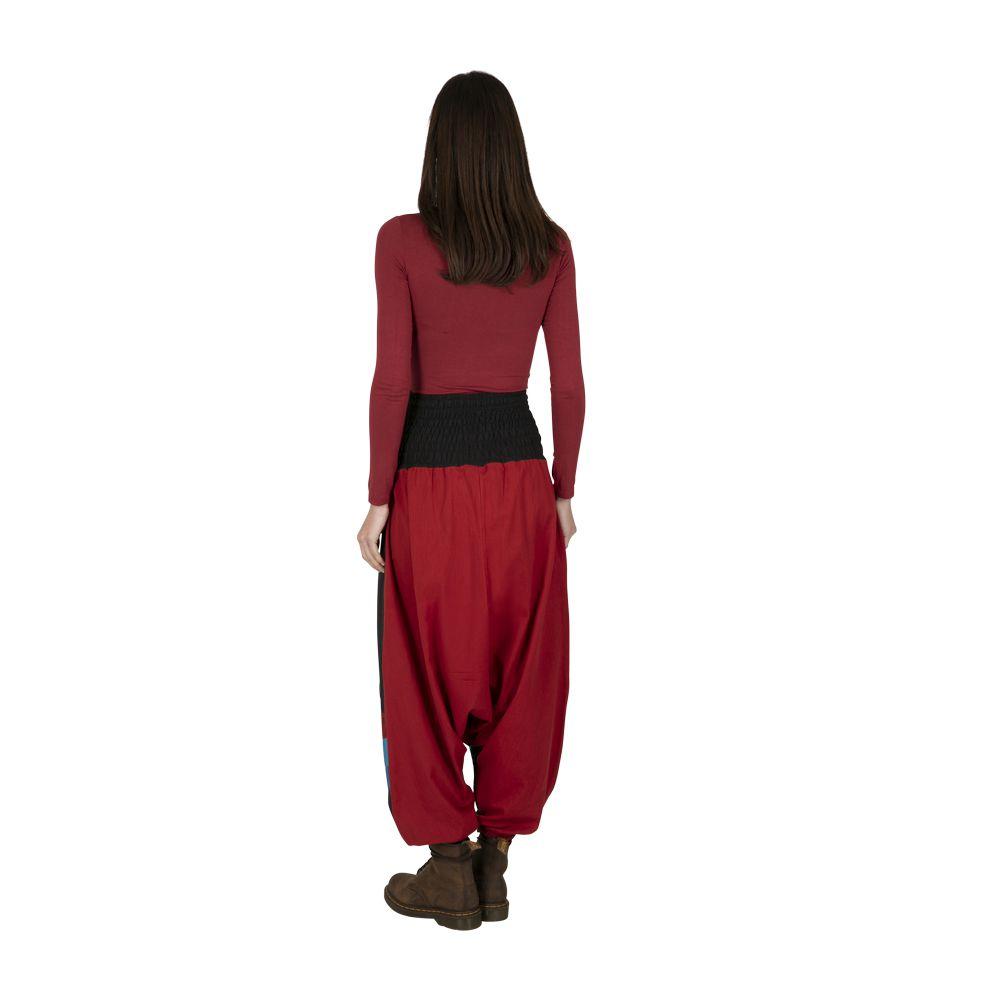 Sarouel femme original en coton imprimé ethnique Luis 323333