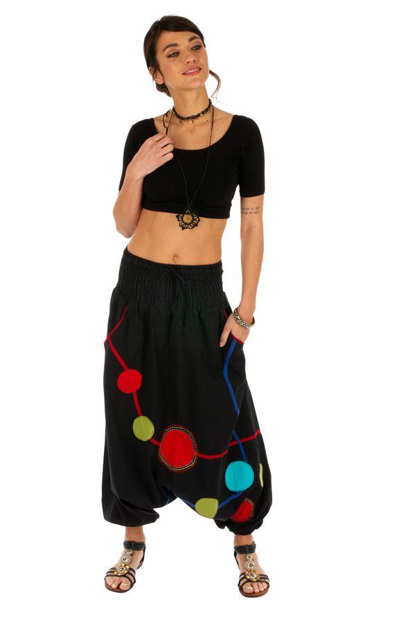 Sarouel femme original pour détente ou yoga Mallawi 314194
