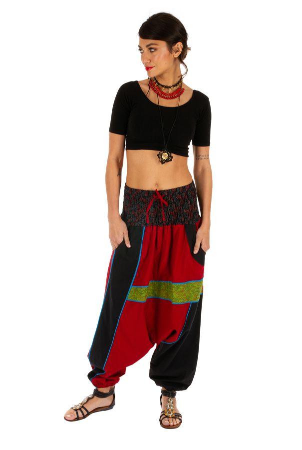Sarouel femme ou homme patchwork et ethnique Assouan 314188