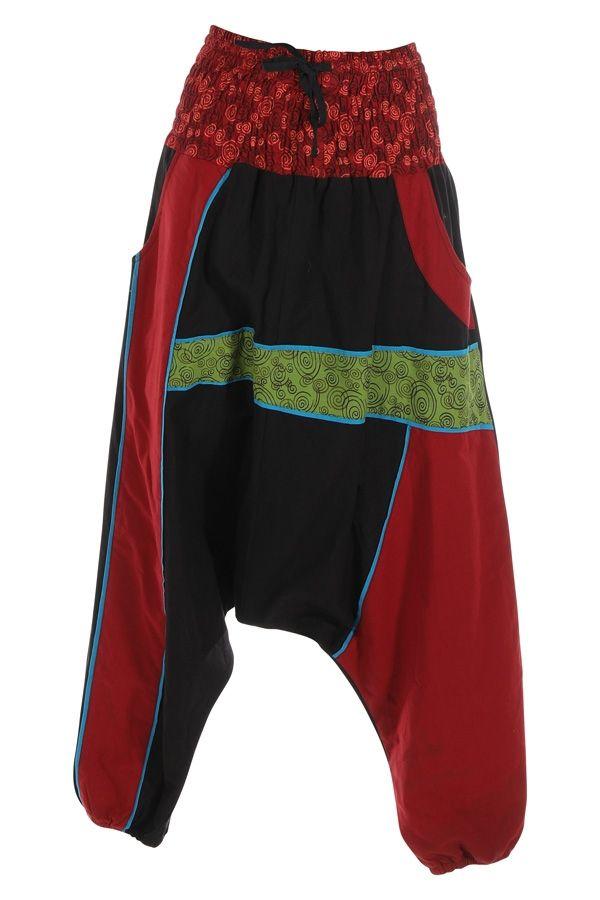 Sarouel femme ou homme patchwork et ethnique Assouan 314848