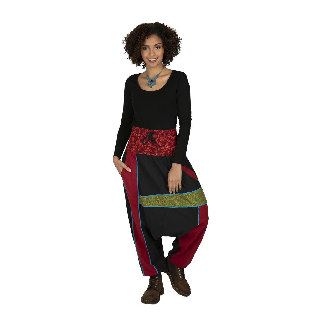 Sarouel femme ou homme patchwork et ethnique Assouan 323314