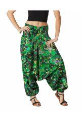 Sarouel Femme pour l'été en coton léger et fluide Lynda 315456