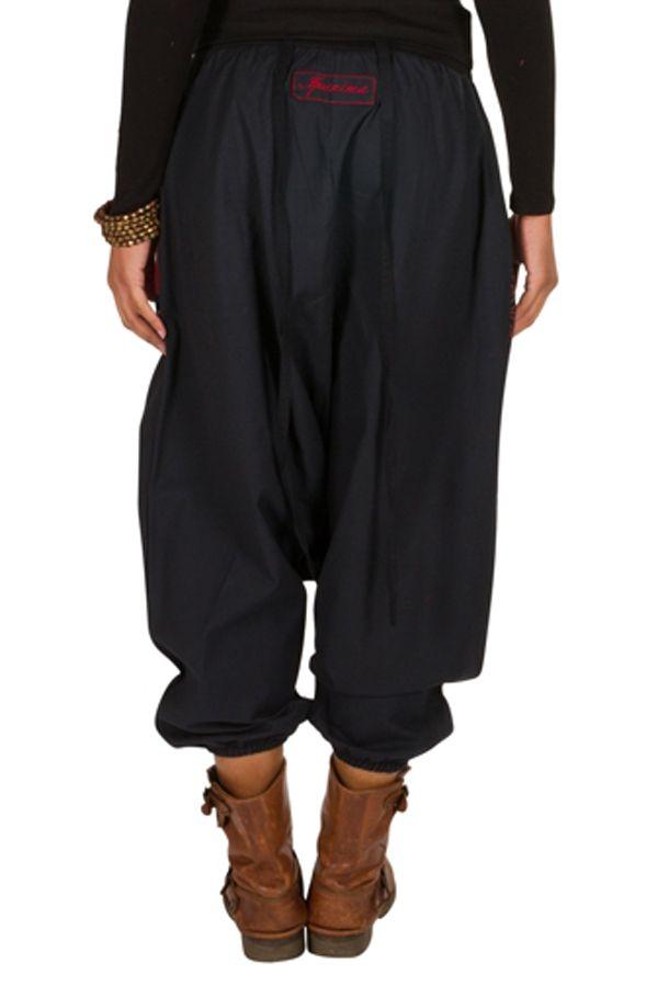Sarouel femme Rouge avec imprimés tendances et poches Amine 301280