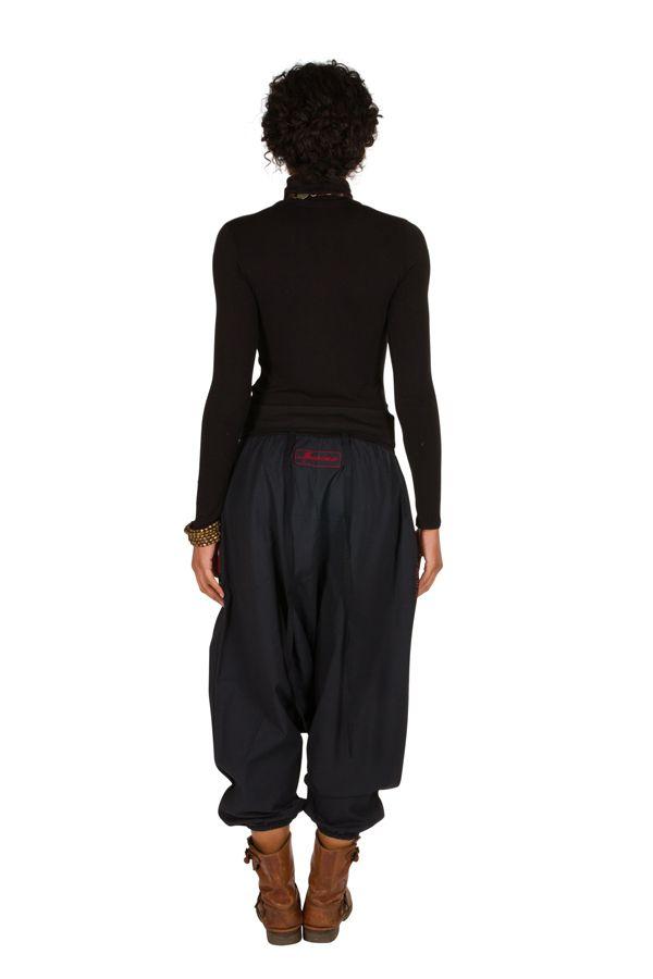 Sarouel femme Rouge avec imprimés tendances et poches Amine 301281