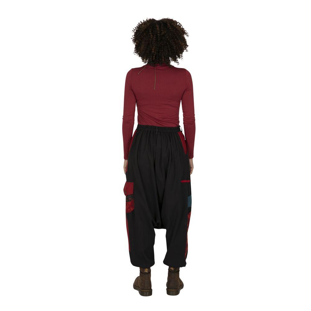 Sarouel femme sarouel homme noir original ethnique Fayoum 323295