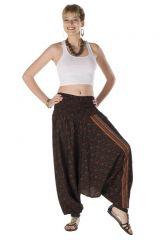 Sarouel femme transformable imprimés indien Lary 287990