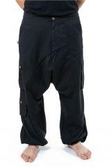 Sarouel homme avec des poches refermables idéal en féstival Skina 305571
