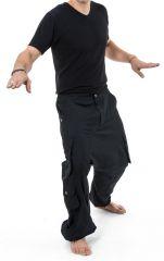 Sarouel homme avec des poches refermables idéal en féstival Skina 305573