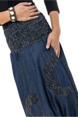 Sarouel homme ou femme en jeans grande taille Mila 304642