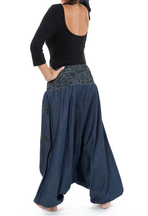 Sarouel homme ou femme en jeans grande taille Mila 304644