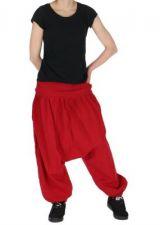Sarouel léger idéal pour l'été louka rouge 261172