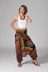 Sarouel multicolore vêtement multifonctions 3 en 1 Yasmina 289403