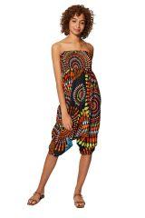 Sarouel multicolore vêtement multifonctions 3 en 1 Yasmina 325498
