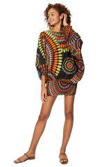 Sarouel multicolore vêtement multifonctions 3 en 1 Yasmina 325499