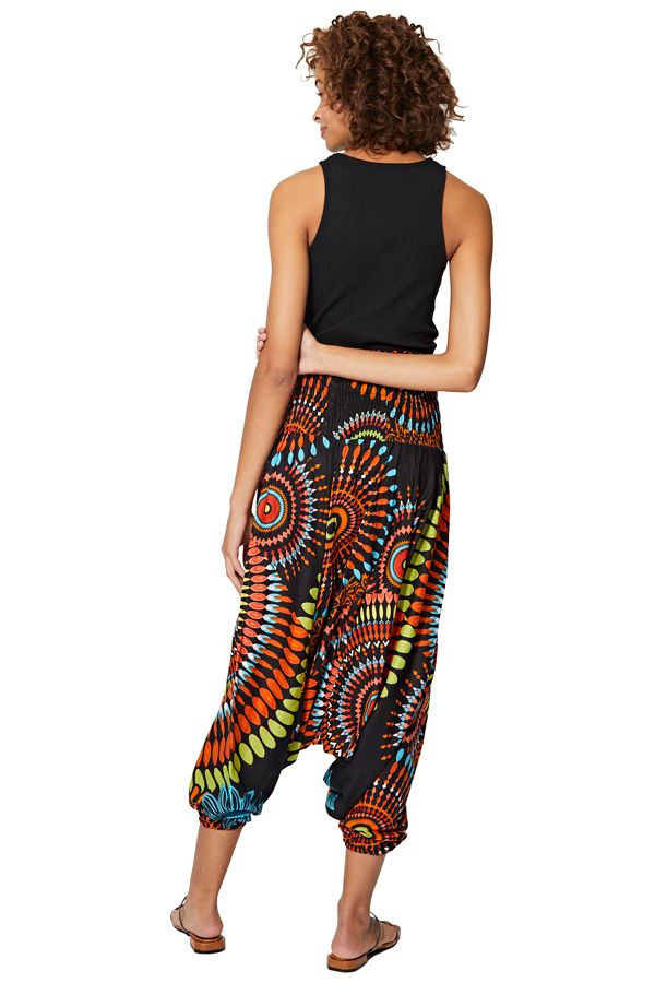 Sarouel multicolore vêtement multifonctions 3 en 1 Yasmina 325500