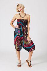 Sarouel multicolore vêtement multifonctions 3 en 1 Yasmini 320404