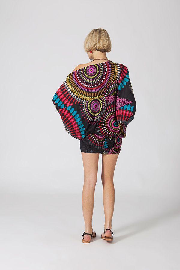 Sarouel multicolore vêtement multifonctions 3 en 1 Yasmini 320405