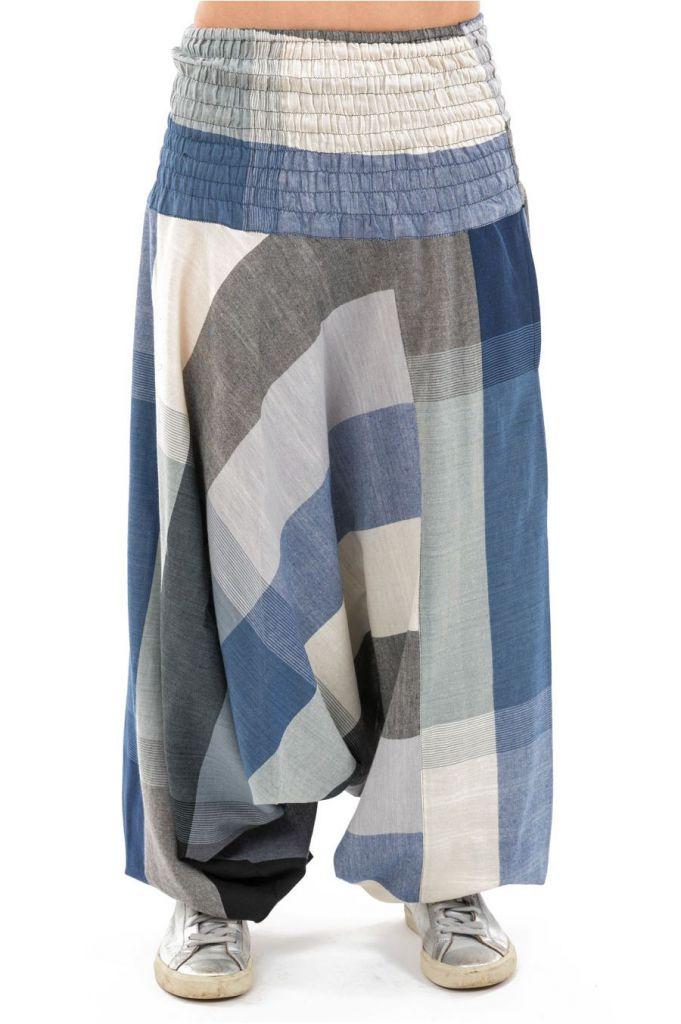 Sarouel népalais en coton léger et fluide pour femme ou homme Zidou 305542