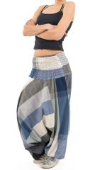 Sarouel népalais en coton léger et fluide pour femme ou homme Zidou 305543