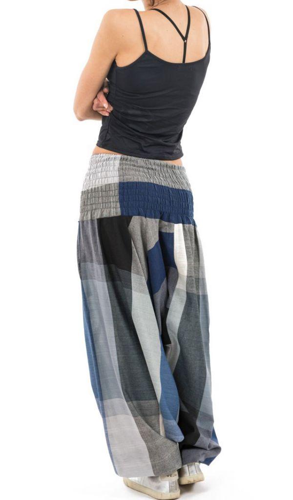 Sarouel népalais en coton léger et fluide pour femme ou homme Zidou 305544