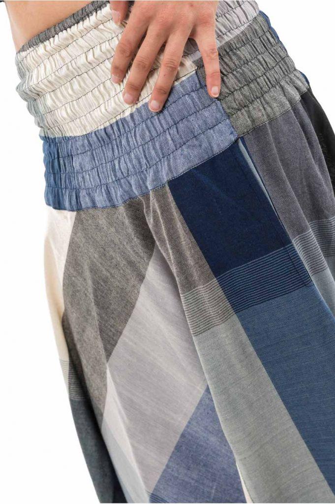 Sarouel népalais en coton léger et fluide pour femme ou homme Zidou 305545