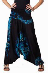 Sarouel noir pour femme Prisyllia 292427