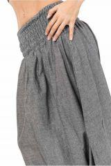 Sarouel Original en coton du Népal extra large gris Groony 303062