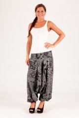 Sarouel original gris vêtement multifonctions 3 en 1 Yasmina 289410