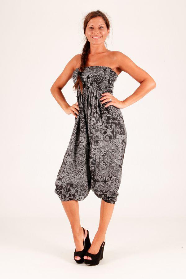 Sarouel original gris vêtement multifonctions 3 en 1 Yasmina 289411
