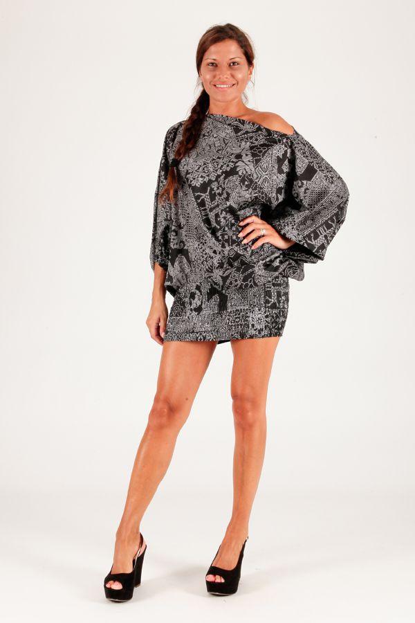 Sarouel original gris vêtement multifonctions 3 en 1 Yasmina 289412