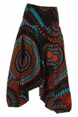 Sarouel original noir vêtement multifonctions 3 en 1 Yasmina 312089