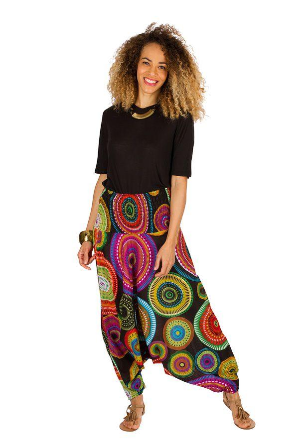 Sarouel original pour femme vêtement multi-fonctions 3en1 Agnès 289480