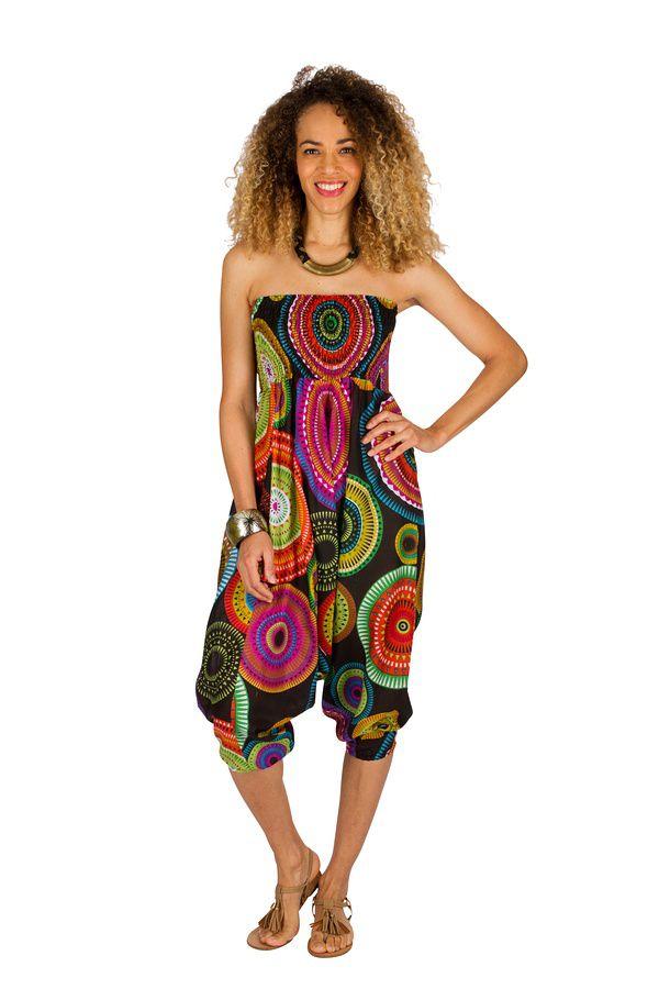 Sarouel original pour femme vêtement multi-fonctions 3en1 Agnès 289481