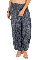 Sarouel pantalon femme large avec une large ceinture Nyfi 311417