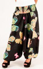Sarouel papillons vêtement multifonctions 3 en 1 Yasmina 292322