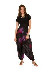 Sarouel pas cher noir vêtement transformable 3en1 Chevy 289425