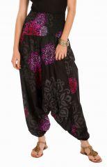 Sarouel pas cher noir vêtement transformable 3en1 Chevy 292311