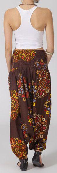 Sarouel pour femme 3 en 1 Ethnique et Original Rayley 275255