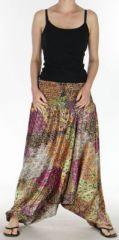 Sarouel pour Femme Chic et Ethnique aspect soie Joanis Orange 275420