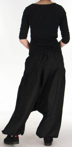 Sarouel pour Femme Ethnique et Confortable Kasaya Noir 275532