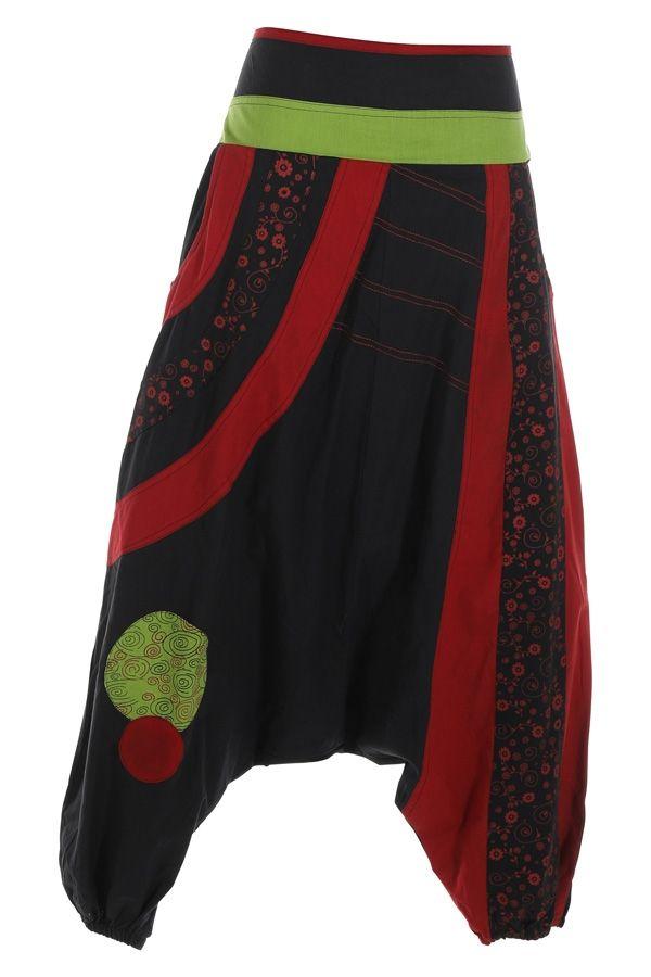 Sarouel pour femme hiver chic original Zagazig noir 314820
