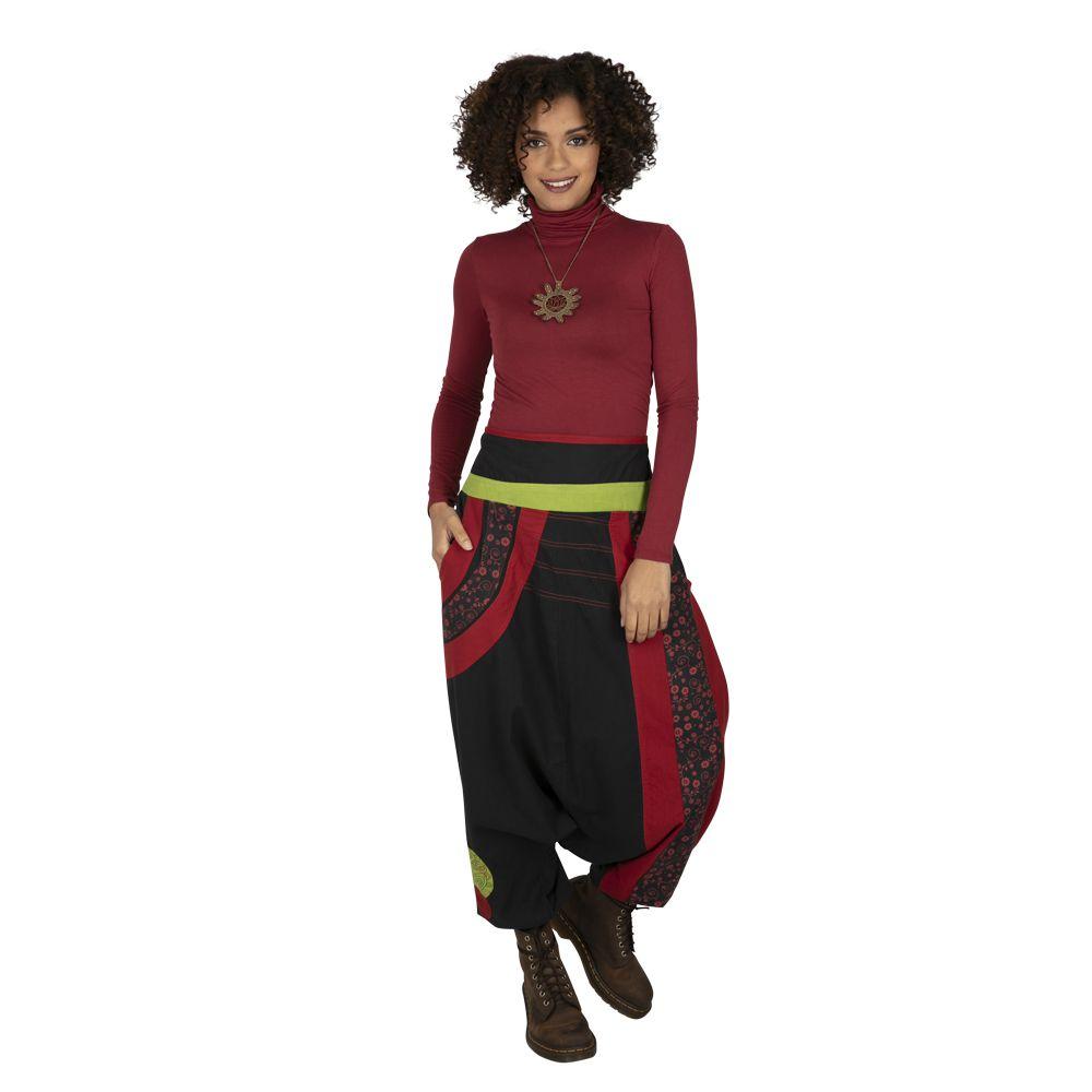 Sarouel pour femme hiver chic original Zagazig noir 323300